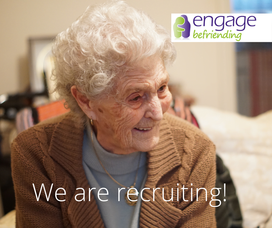 The Mustard Tree are recruiting a Regional Coordinator for Engage Befriending.